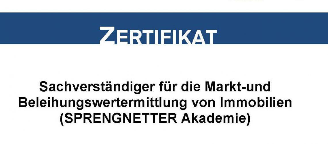 Zertifikat Tobias Geipel Sprengnetter Akademie Sachverständiger Markt- und Bleihungswertermittlung bis 2026_Seite_1